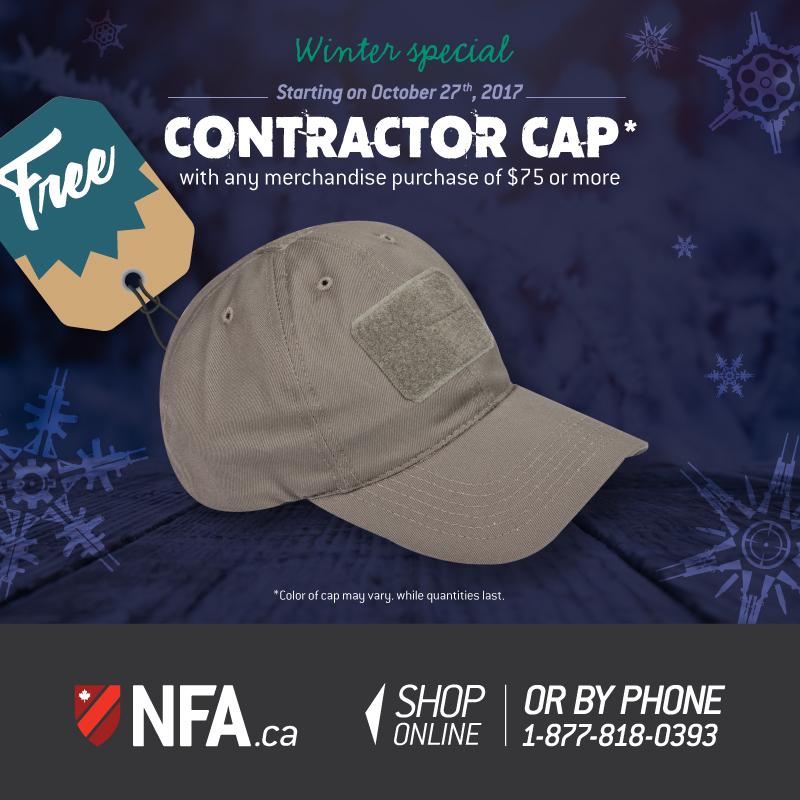 Contractor cap 2017
