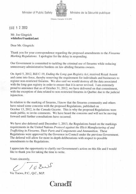 Letter Toews_0