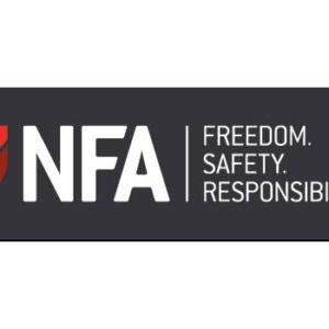 NFA Bumper Sticker