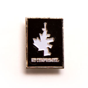 No Compromise Pin