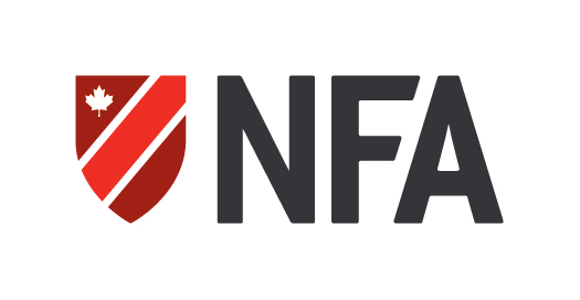 nfa sticker white