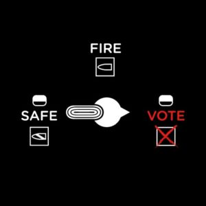 Vote Your Passion Sticker- Safety