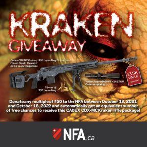 2021 The Kraken Giveaway